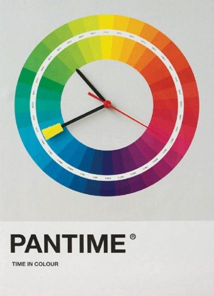 Pantime: Pantones para medir el tiempo.