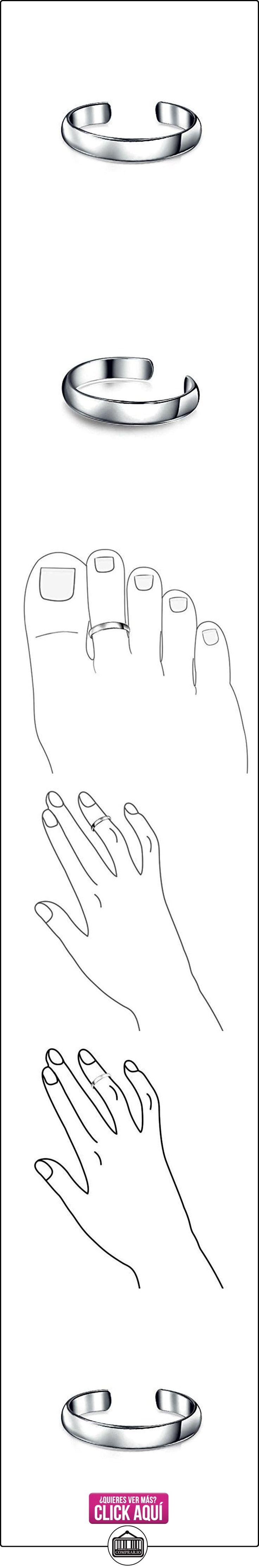 Bling Jewelry Plata Esterlina Clásica Anillo ajutable Anillo del dedo Anillo Midi  ✿ Joyas para mujer - Las mejores ofertas ✿ ▬► Ver oferta: http://comprar.io/goto/B00E1PVD5Q