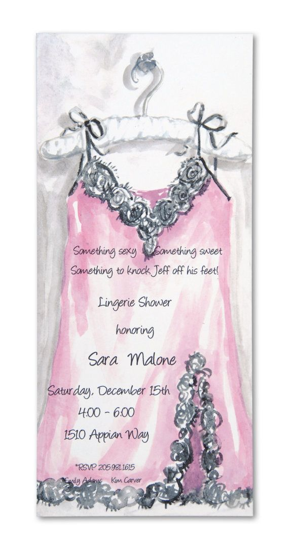 Lingerie shower invitation photoshop pinterest sexy sweet and lingerie shower invitations for Lingerie invitations