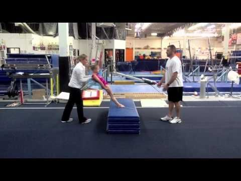 Developing Straight Bodies In Young Gymnasts  