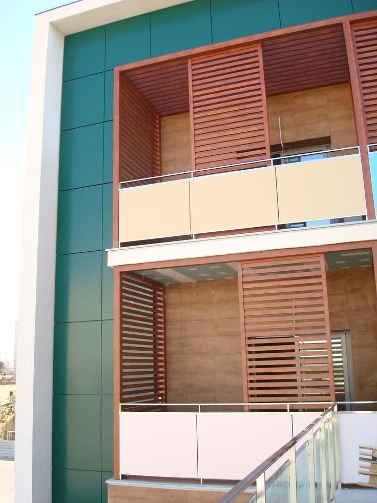 El detalle de las terrazas que tienen las habitaciones