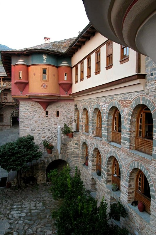 The Monastery of Karakallou