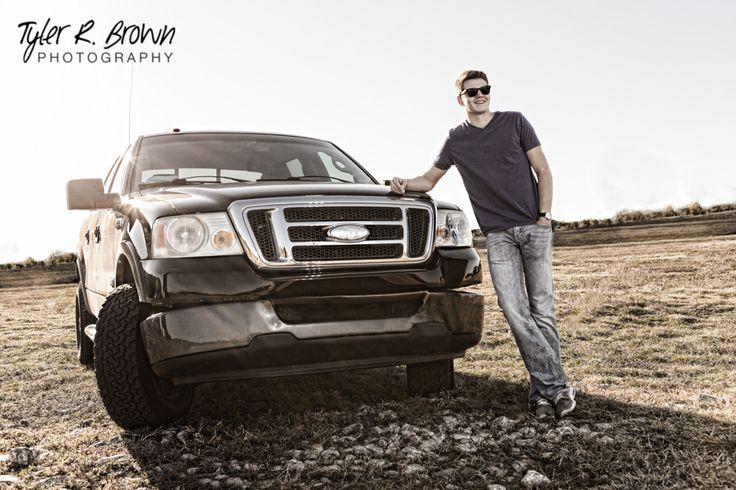 Zach Ferrell - McKinney North High School - Class of 2015 - Senior Portraits - Truck - Senior Pictures - Ideas for Guys - Guy Senior Pics - Sunglasses - T-shirt and Jeans - Adriatica Village - McKinney, Texas - Tyler R. Brown Photography