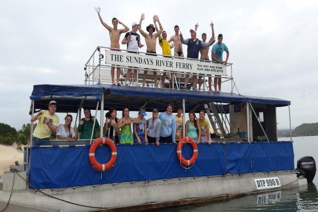 Sundays River Ferry - Boat Trips on the Sundays River near Port Elizabeth, Eastern Cape