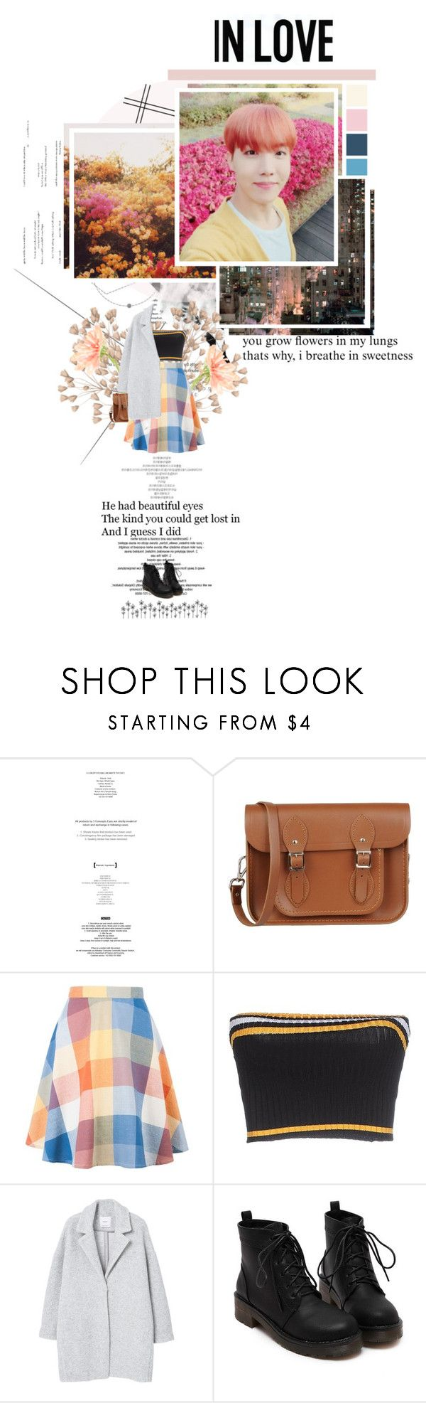 """""""🌸 ~ Star // Jung Joon Young ~ 🌸"""" by xxjay-gxx ❤ liked on Polyvore featuring StyleNanda, The Cambridge Satchel Company, Prada, MANGO, bts, polyvorefashion, hobi and J_Hope"""