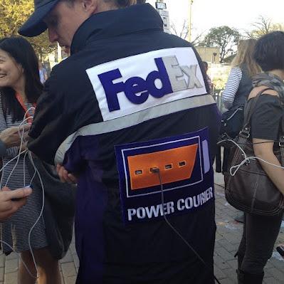 Pretty cool Marketing Idea by Fedex at #SXSW  Repinned by Spark Strategic Ideas www.sparksi.com