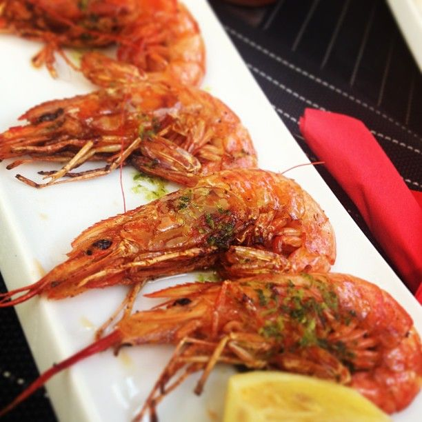 #Barcelona: Hello my little #friends! #Tapas #Shrimp #Gambas
