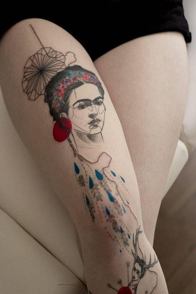33 Tatuajes inspirados en reconocidas obras de arte de grandes pintores