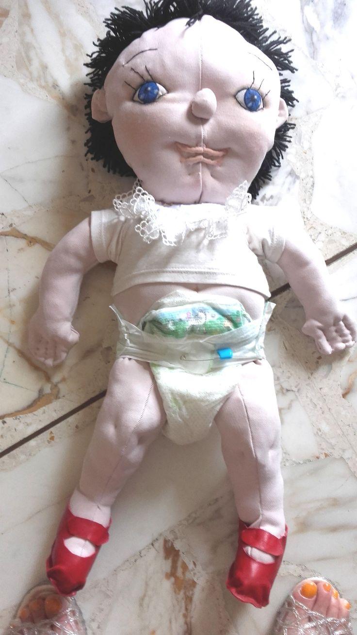 Bambola di pezza.