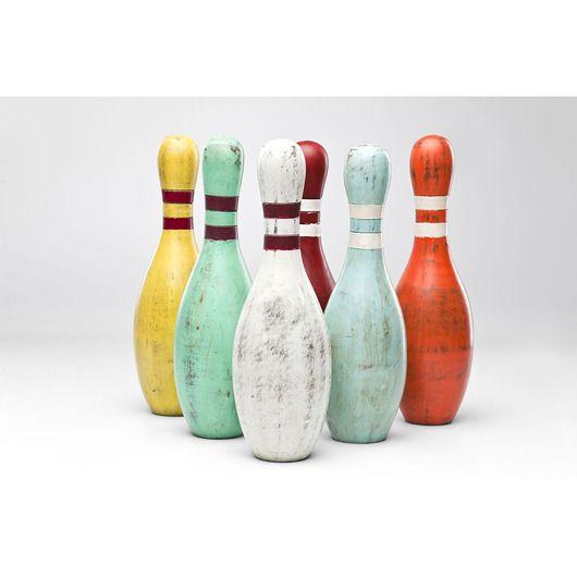 dodatki - dekoracje - rzeźba-Figurka dekoracyjna Kręgle - Bowling Pin