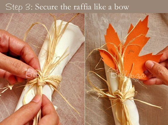 Prepare thanksgiving napkin rings crafts for your 2014 for Diy fall napkin rings