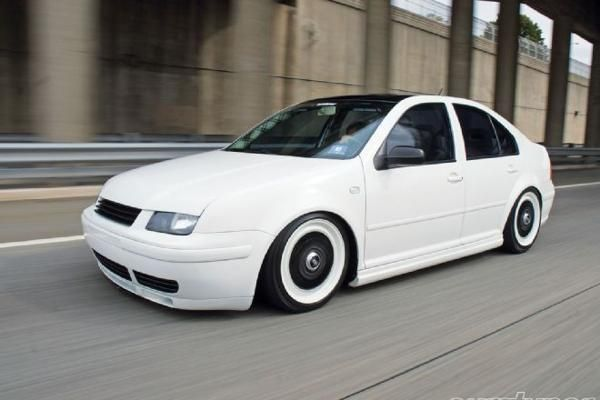 2000 VW Jetta  My last race built GTI was Black n White... I'm thinking flat white and gloss black on the MK4