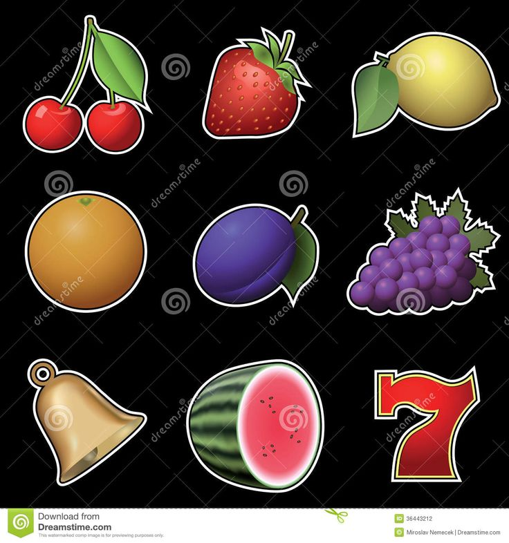 slot-machine-fruit-symbols-black-background-36443212.jpg (1300×1390)