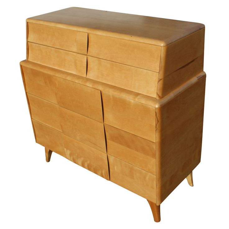 The Heywood-Wakefield company was based in Gardner, Mass. Their modern furniture line was produced from the 1930s through the 1960s.