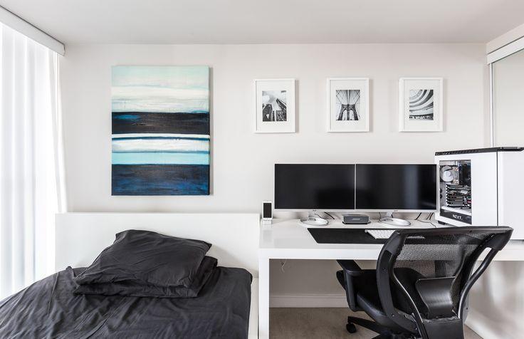 Taki setup w sypialni tez bylby spoko zamiast biuro w pokoju goscinnym