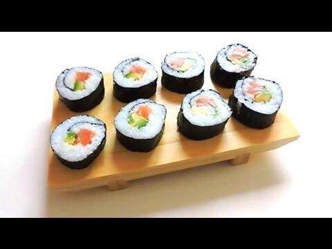 COME FARE IL SUSHI IN CASA: FUTOMAKI !! | Sakuralexia - YouTube