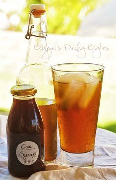 Birgit's Daily Bytes: Healthy Sodas? Is that even possible? YES! Note: more recipes for home-made,  pro-biotic sodas such as Root Beer and Ginger Ale can be found at this site.