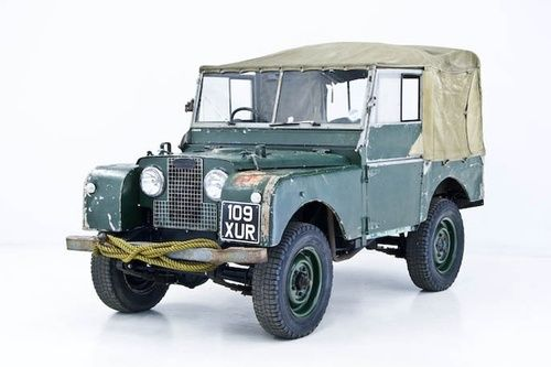 Land Rover Series 1 from the 1950's
