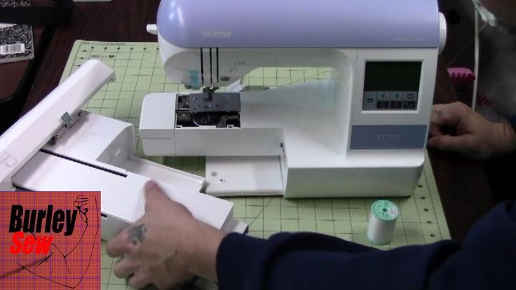 Brother PE-770 Set Up including Threading/ Right from the box to Embroid...