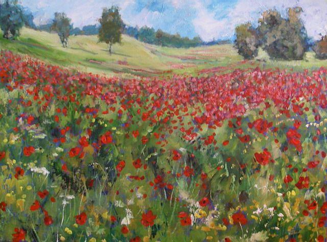 Timmy Mallett - Interests - Painting - Poppies 8