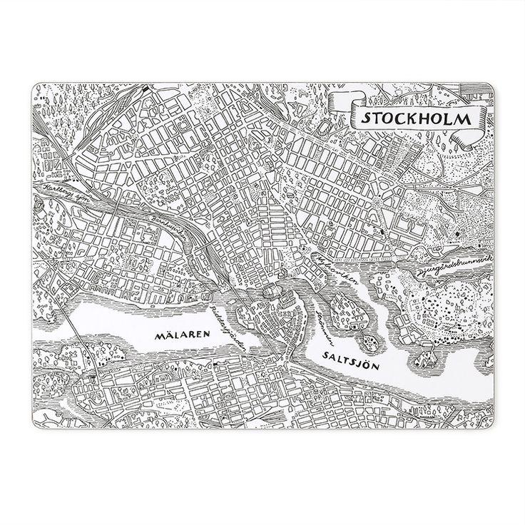 Placemat Stockholm Set of 2 | Svenskt Tenn