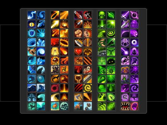 Skill Icon Pack - Asset Store