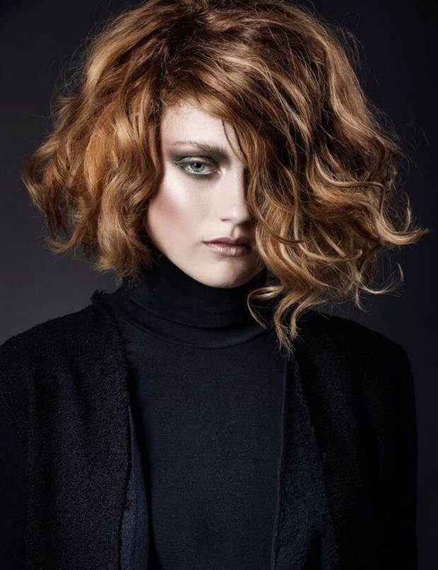 Berühmt Les 25 meilleures idées de la catégorie Coupes de cheveux ondulés  ND66