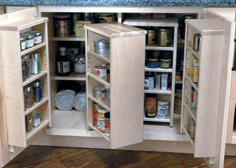 17 Best Images About Top Kitchen Storage Cabinets On Pinterest Storage Solutions Pan Storage