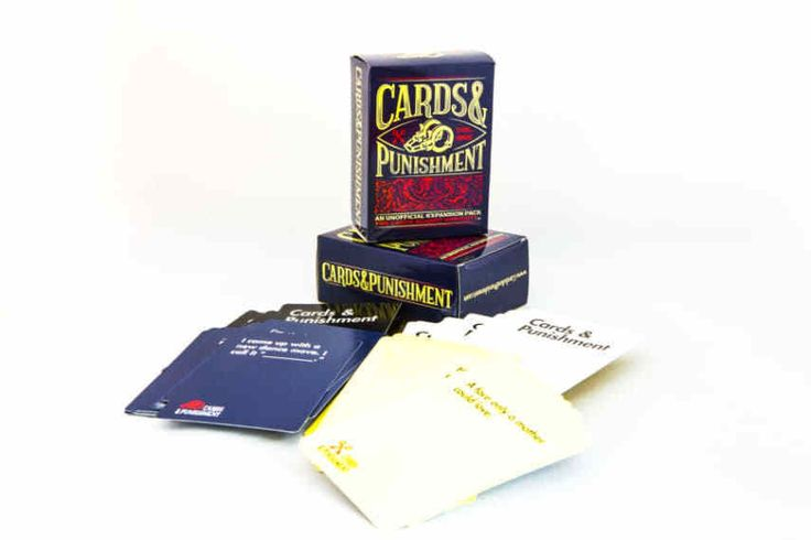 Cards and Punishment: Vol. 1, an Unofficial Expansion Pack Against Humanity #CardsPunishment
