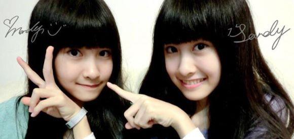 Para pria di Jepang dikhawatirkan terpikat oleh sepasang gadis kembar berusia 13 tahun asal Taiwan