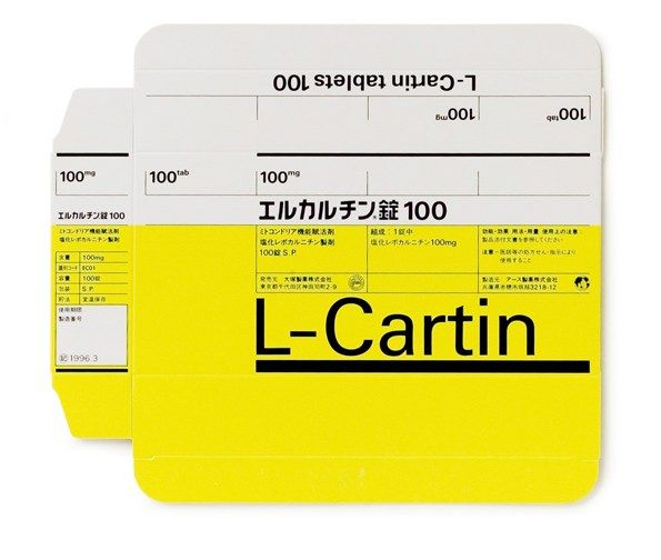L-Cartin, Otsuka Pharmaceutical Co., 1980 @ sayforward.com
