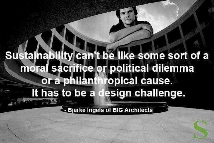 Bjarke Ingels sustainabledesignandarchitecture.com