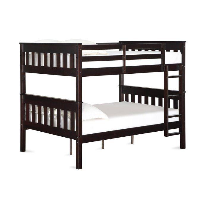 Almedacheatham Full Over Full Bunk Bed Dorel Living Bunk Beds