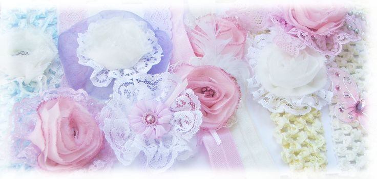 Vintage Shabby Chic - so pretty - designs by Bubblegum Treehouse on Facebook