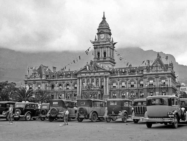 Cape Town's City Hall from The Parade 1920| Flickr - Photo Sharing!