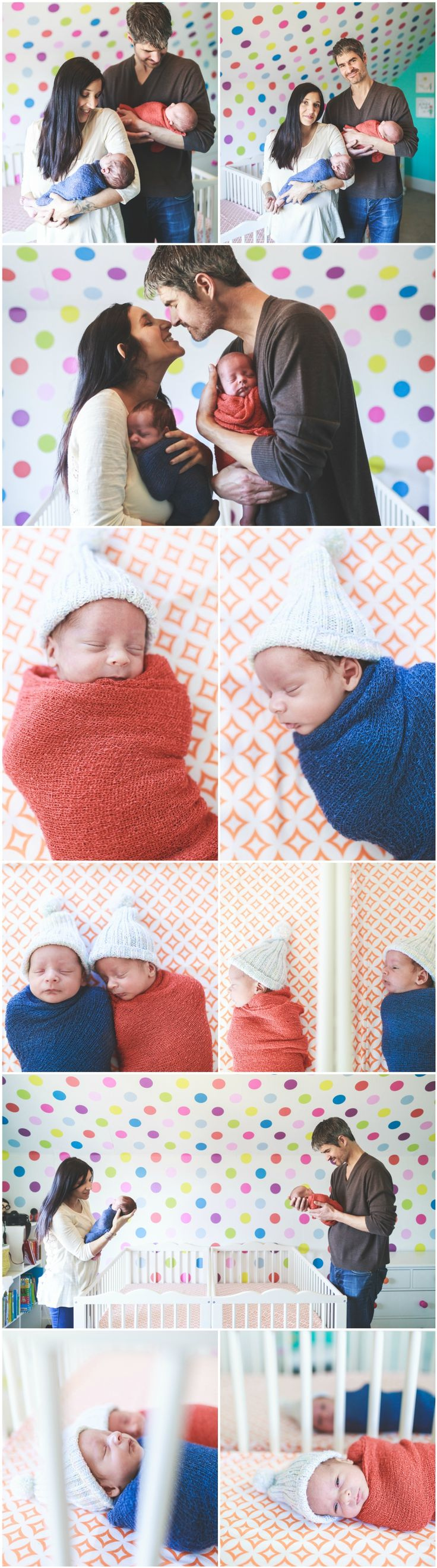 Cute Twin Newborn Photography Ideas and Inspiration   Newborn Poses   Denver Newborn Photographers   Newborn Baby Twins and Family Portraits