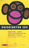 """'Chessington Zoo', BR poster, 1961."""