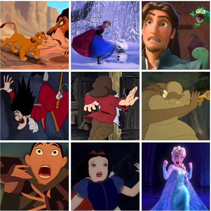 Dear people of Pinterest, please NEVER pause a Disney movie!