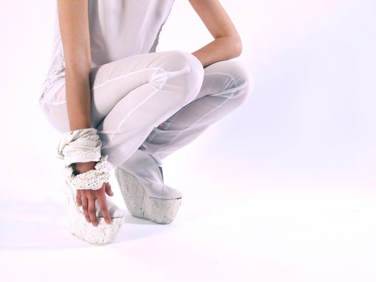 Shoes: Laura Papp Photo: Zsuzsa Darab   Model: Dóra Medveczky