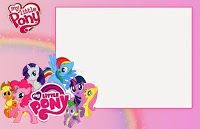 My Little Pony Party: Free Printable Invitations.