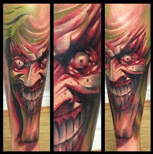 Marked For Life Tattoos And Gangs: Sick Joker Tattoo Done By Mark Bester At Marked For Life