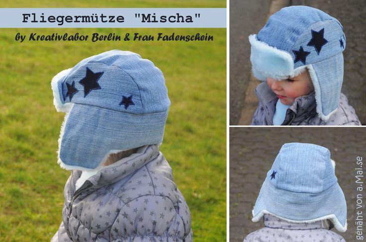 "Fliegermütze ""Mischa"" von a.Mai.se: http://de.dawanda.com/product/92147803-schnittmuster-fliegermuetze-fuer-erwachsene-kinder"