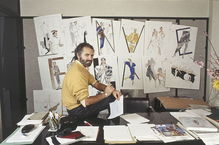 Gianni Versace Was One of the First Designers to Invite Celebs to Fashion Shows - HarpersBAZAAR.com