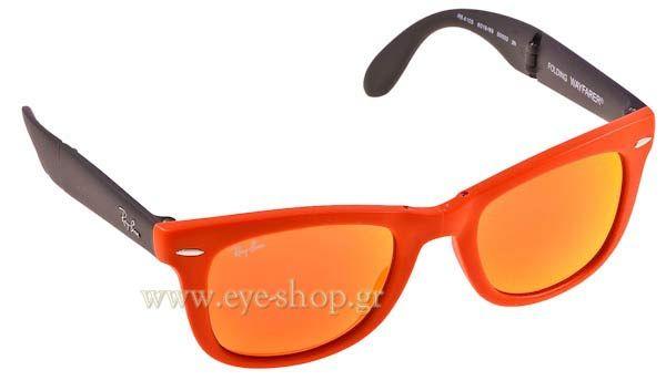 Γυαλιά Ηλίου  RayBan 4105 Folding Wayfarer 601969 Folding Τιμή: 110,00