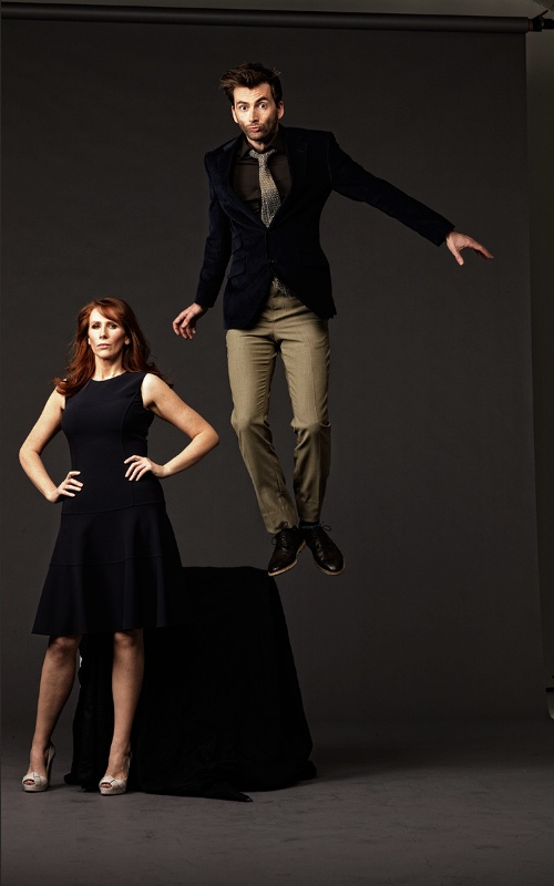 Now this was some fun! The Doctor and Donna Noble // David Tennant and Catherine Tate