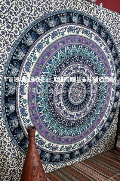 Indian Tapestries Medallion Dorm Room Tapestry Cheap College Wall Hanging