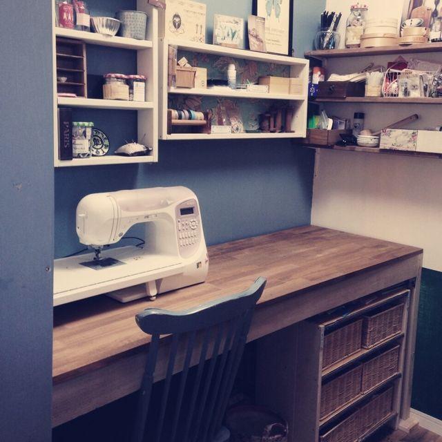 ミシン/DIY…などのインテリア実例 - 2014-01-08 21:56:38