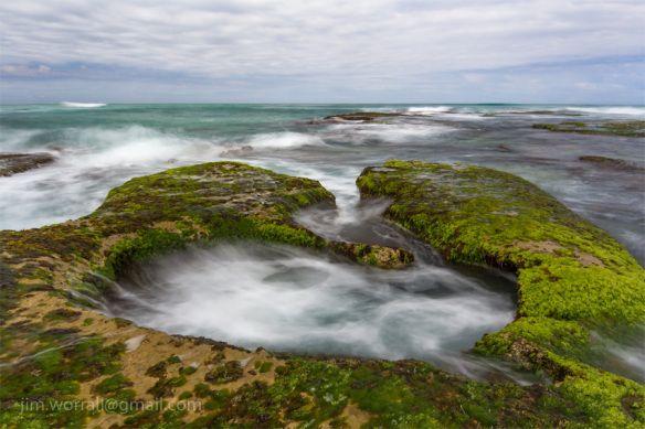 Pool - Sorrento beach - Jim Worrall - Mornington Peninsula - Australia 2012 • rock pool Australia