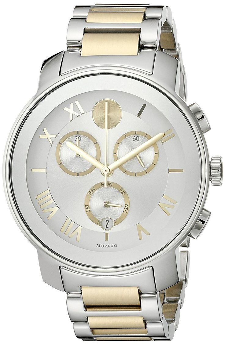Movado Women's 3600280 Analog Display Swiss Quartz Two Tone Watch -- To  view further for