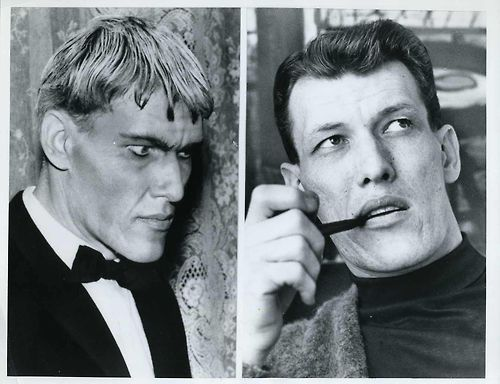 Ted Cassidy- otherwise known as Lurch from the Addams Family TV show.